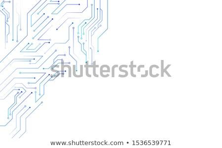 Technológia áramkör diagram absztrakt hálózat háló Stock fotó © SArts