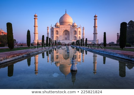 Taj Mahal. India Asia. Travel and tourism Stock photo © rogistok