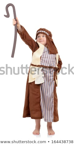 Boy Moses Costume Stock photo © lenm