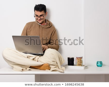 Young handsome man staying in hospital  Stock photo © Elnur