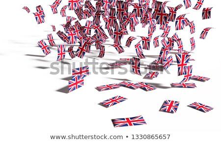 европейский · британский · флагами · флаг · Европейское · сообщество · Великобритания - Сток-фото © ustofre9