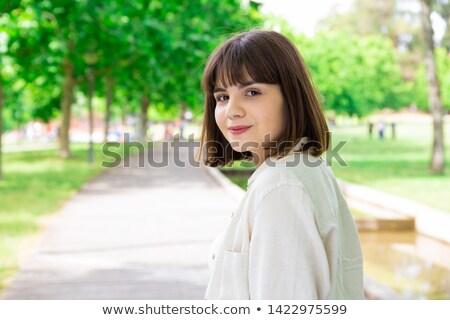 фото · два · красивой · дамы · женщины · ангела - Сток-фото © deandrobot