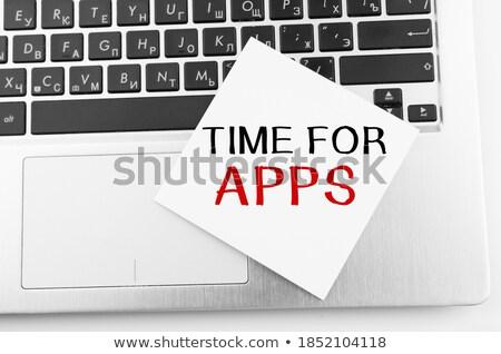 download · pulsante · chiave · computer · internet - foto d'archivio © tashatuvango