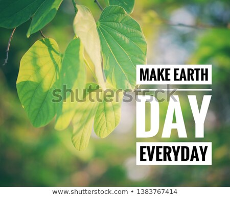 Codzienny dzień ziemi ilustracja ręce świat Zdjęcia stock © colematt