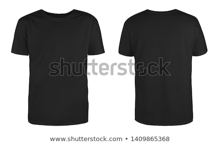 Preto tshirt ilustração negócio moda projeto Foto stock © Blue_daemon