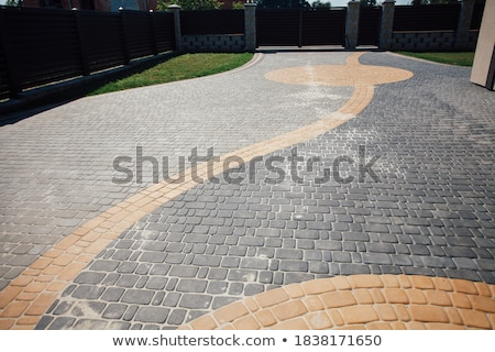Pavement tile Stock photo © creatOR76
