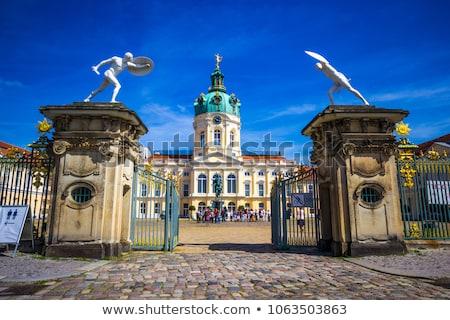 Palota Berlin legnagyobb királyi lakás város Stock fotó © borisb17