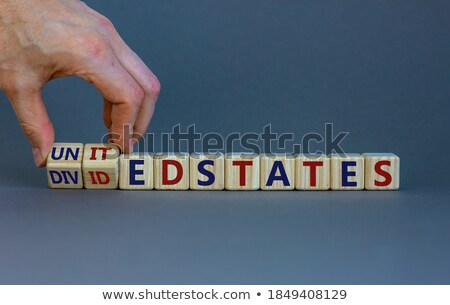 Divided United States Stock photo © Lightsource