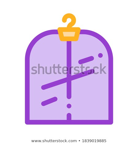 Laundry Service Suit In Covering Vector Line Icon Stock photo © pikepicture