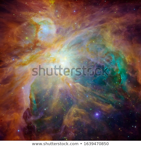 The Orion Nebula is a nebula in the constellation of Orion. Stock photo © NASA_images