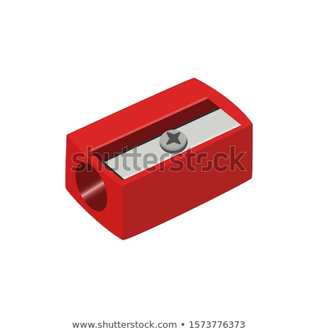 карандашом точилка школы оборудование ретро вектора Сток-фото © pikepicture