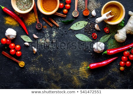 Asian Cuisine - Ingredients Stock photo © Pheby
