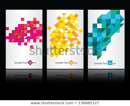 抽象的な パターン デザイン 3  色 テクスチャ ストックフォト © SArts