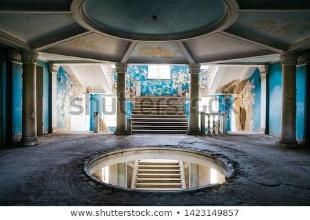 Opuszczony radziecki Gruzja ważny spa resort Zdjęcia stock © boggy