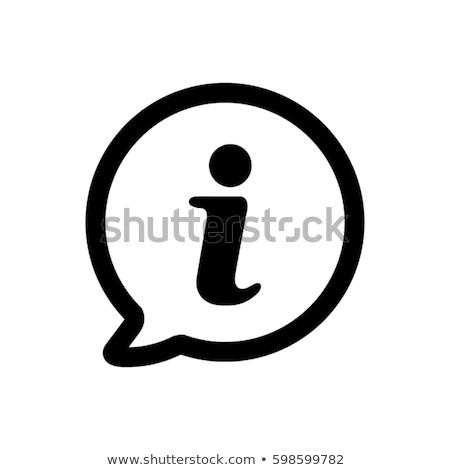 Information icon Stock photo © rzymu