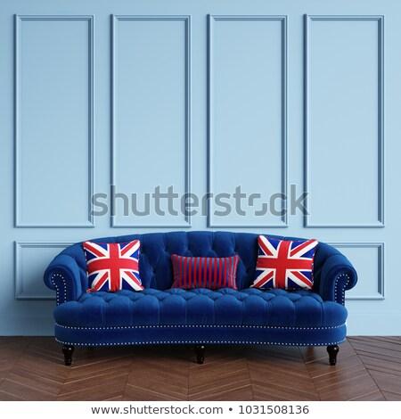 British flag on pillow Stock photo © magraphics