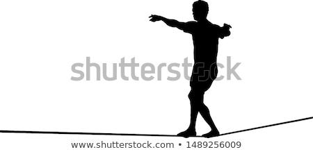 tightrope walker Stock photo © adrenalina