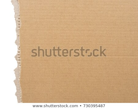 Torn Cardboard Background Stock photo © jamdesign