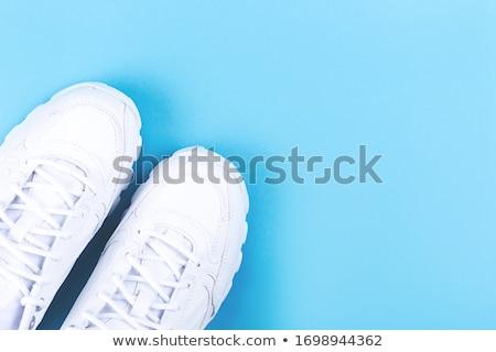 Ne yürüyüş stil bot ayakkabı Stok fotoğraf © lovleah