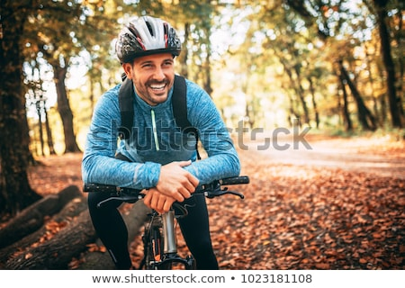 young people biking in the forest stock photo © photography33