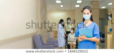 hospital · sala · de · espera · corredor · recepção · luz · grande - foto stock © photography33