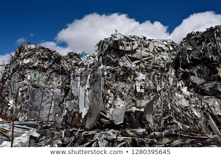 Scrap Metal Pile Stock photo © CrackerClips