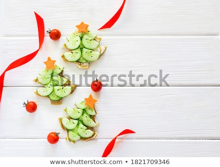 Cucumbers in a dish Stock photo © Givaga