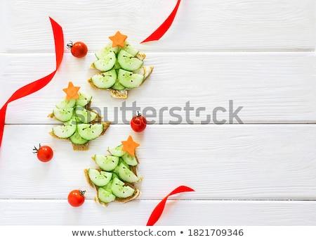 огурцы · коллекция · свежие · зеленый · огурца · изолированный - Сток-фото © givaga