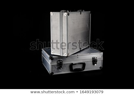 businessman with metal container #2 Stock photo © dolgachov