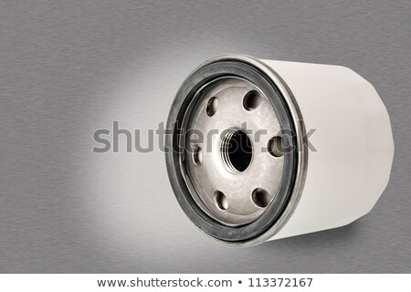 automotive oil filter is shown closely Stock photo © marekusz