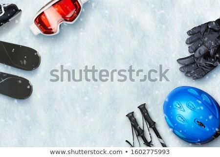 views of ski resort stock photo © bsani
