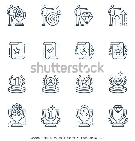 Jobb állás nyomtatott papír jegyzetek szó Stock fotó © stevanovicigor