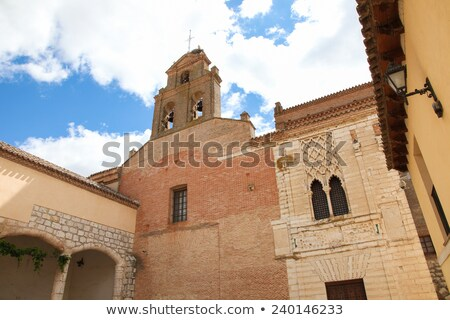Tordesillas Royal Convent Of Santa Clara Zdjęcia stock © jorisvo