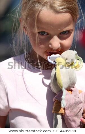 ребенка · красный · сердце · человека · эмбрион · внутри - Сток-фото © photography33
