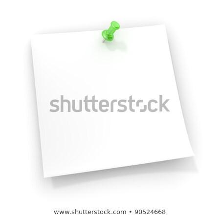 человека · бумаги · сведению · напоминание · форма · голову - Сток-фото © johanh