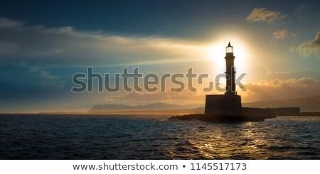 灯台 ビーチ 建物 光 砂 ストックフォト © Kenneth_Keifer