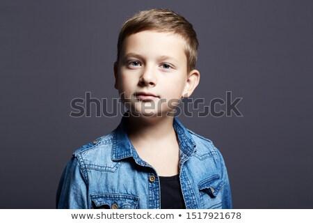 Ritratto ragazzo 10 anni bianco Foto d'archivio © RuslanOmega