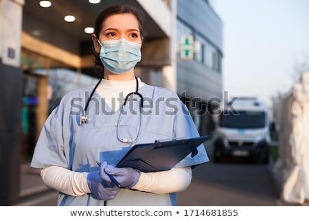 Medical Professional Concerned Stock photo © lisafx