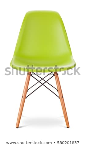 green chair isolated on white stock photo © ozaiachin