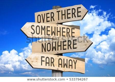 signs to nowhere stock photo © itobi