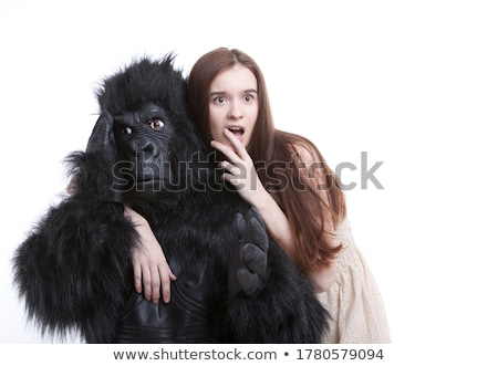 An irritated gorilla Stock photo © mariephoto