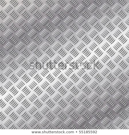 Aluminium tablicy metal streszczenie przemysłowych piętrze Zdjęcia stock © Snapshot