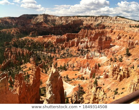 Colorful Sandstone formations in the forest shadows Stock photo © wildnerdpix