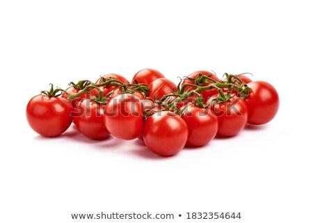 Stock photo: Organic cherries