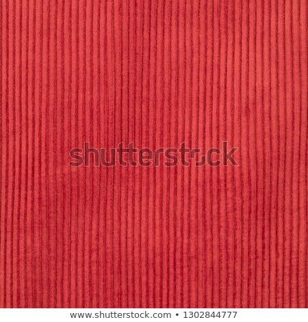 red corduroy textile background stock photo © pixelsaway