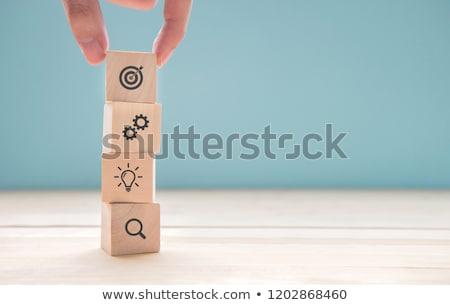 Objective Stock photo © ajn