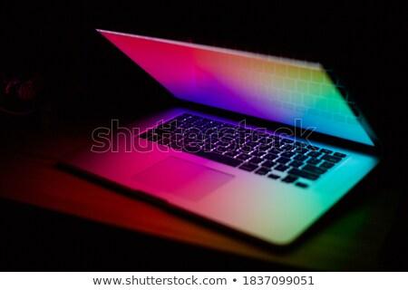 medios · de · comunicación · social · botones · teclado · como · facebook - foto stock © redpixel