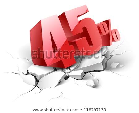 45 percent discount stock photo © kbuntu