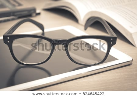 Knowledge Concept. Vintage Design Background. Stock photo © tashatuvango