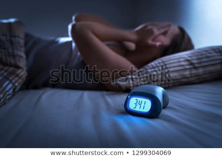 insomnia stock photo © chrisdorney
